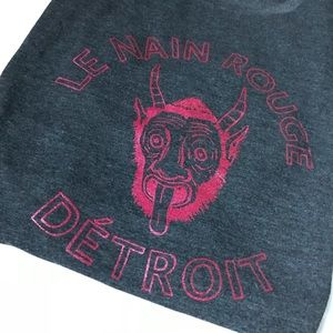 Le Nain Rouge Detroit Devil T Shirt